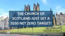 Church of Scotland 2030 Net Zero Target